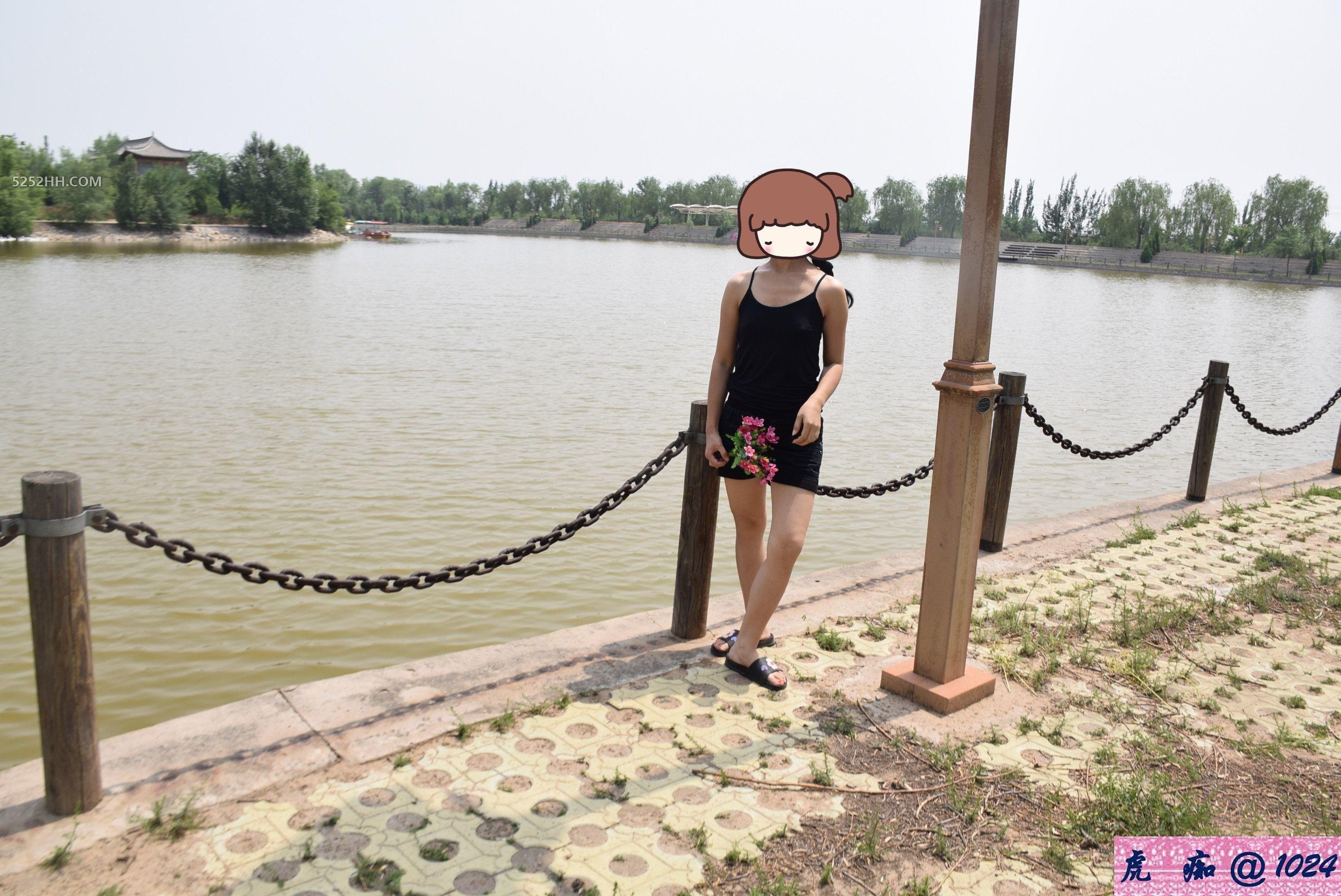 初秋湖畔阳光好,人与花儿一样娇[18P]